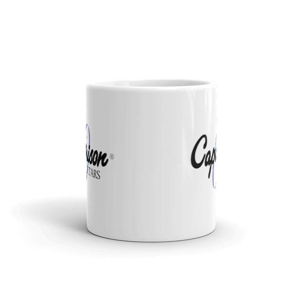 Official Caparison Guitars Exclusive Clock Logo Mug