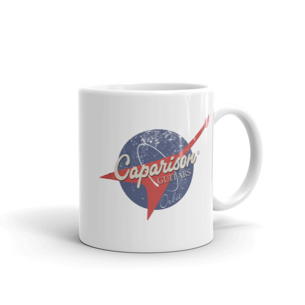 Official Caparison Guitars Exclusive Orbit Design Mug