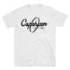 Caparison Guitars Classic single colour print basic T-Shirt.