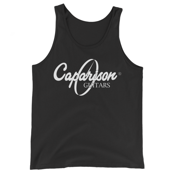 Caparison Guitars Tank Top with Clock Logo