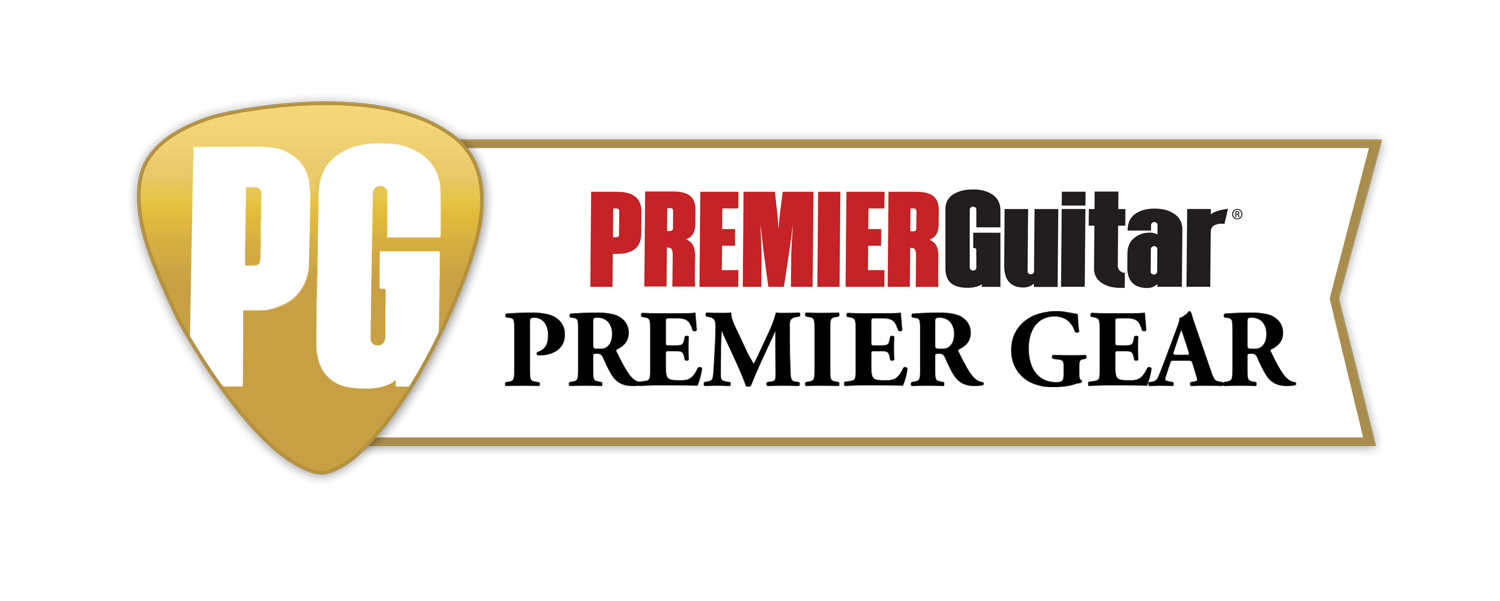 The Horus-M3 CC has received the Premier Guitar Magazine Premier Gear Award.
