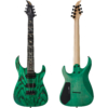 Caparison Dellinger 7 FX-AM, Dark Green Matt