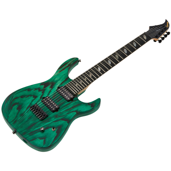 Caparison Dellinger 7 FX-AM, Dark Green Matt