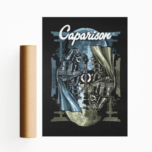 Caparison Samurai Poster